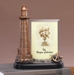 Bronze Coated Lighthouse Picture Frame