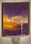 Lighthouse Colored Lithophane Night Light