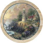 Lighthouse of Peace Coasters by Thomas Kinkade