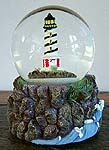 Rotating Lighthouse Musical Water Globe