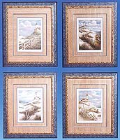 "14""x17"" Lighthouse Framed Art Set"