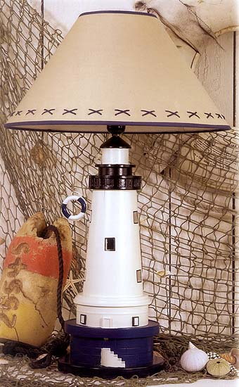 """One-of-a-Kind"" Lighthouse Lamp"